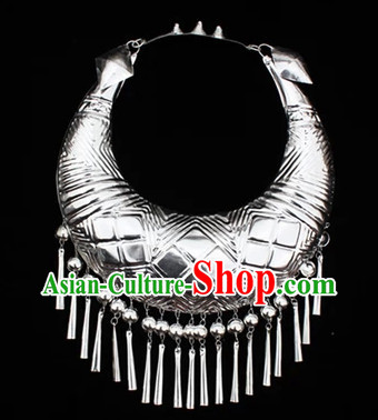 Traditional Chinese Miao Ethnic Minority Necklace