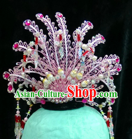 Ancient Chinese Peking Opera Phoenix Headpieces