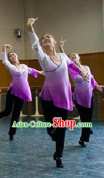 Beijing Dance Academy Classical Dancing Practice Uniforms