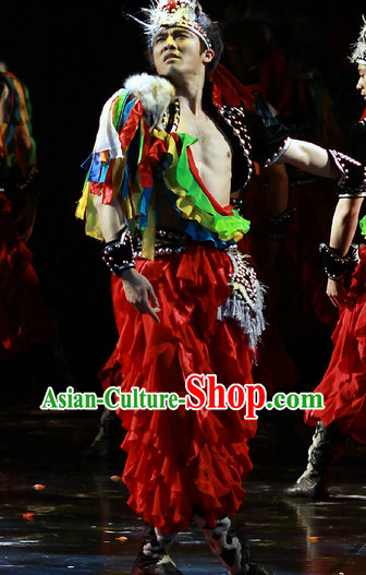 Beijing Dance Academy Red Hero Dance Costumes