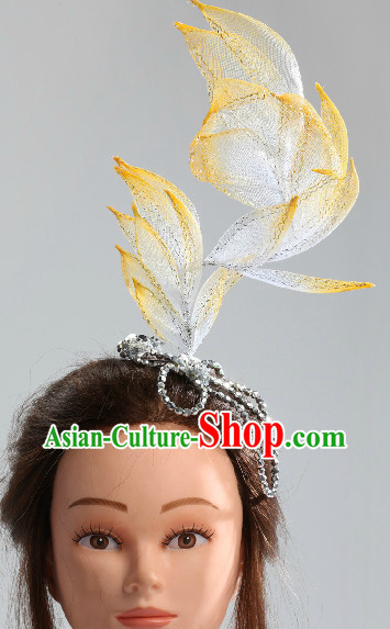 Traditional Chinese Folk Dance Headpieces