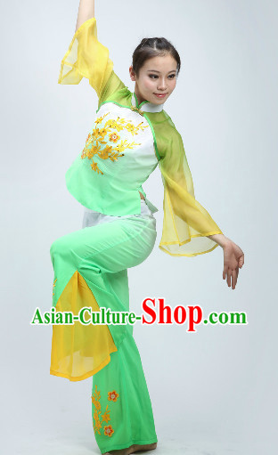 Long Ribbon Dance Costumes for Women