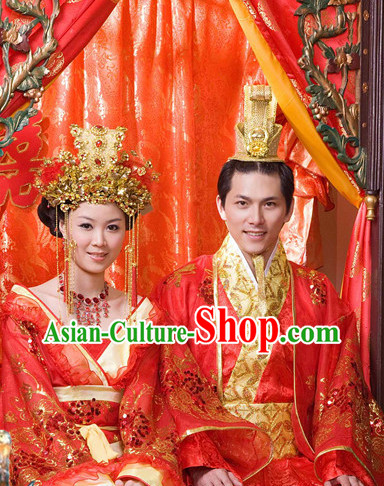China Wedding Hats for Men and Women