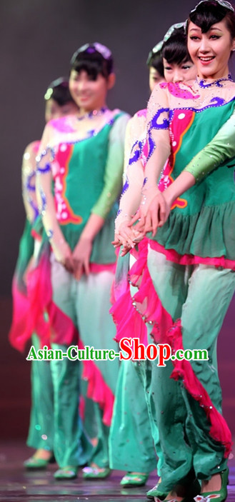 Traditional Folk Dancing Costumes for Women or Kids