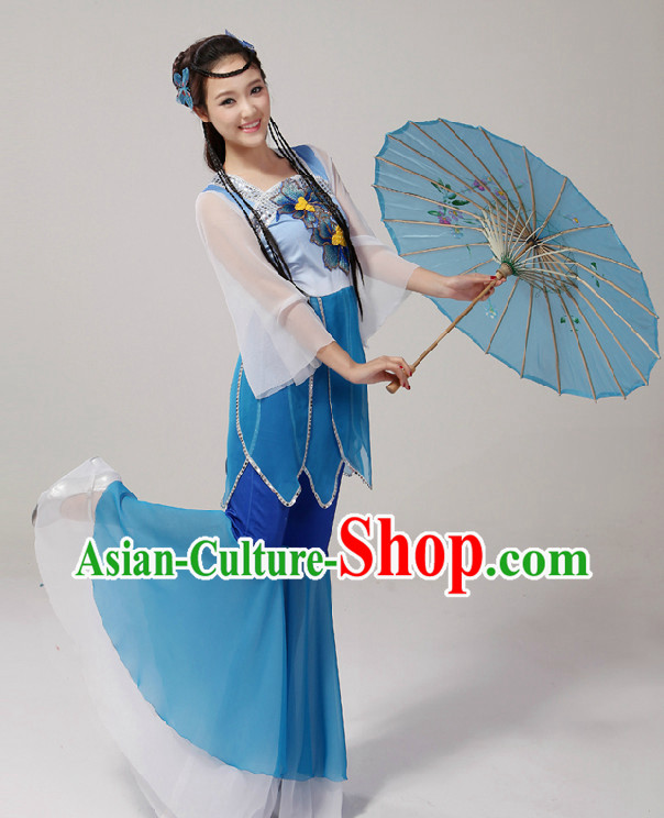 Professional Stage Performance Umbrella Classical Dancing Costumes for Women
