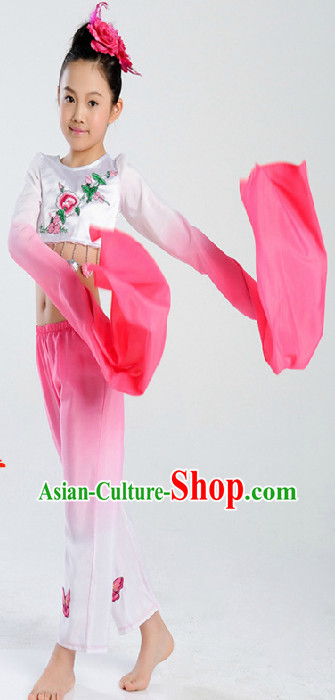 Chinese Water Sleeve Dance Costumes for Women