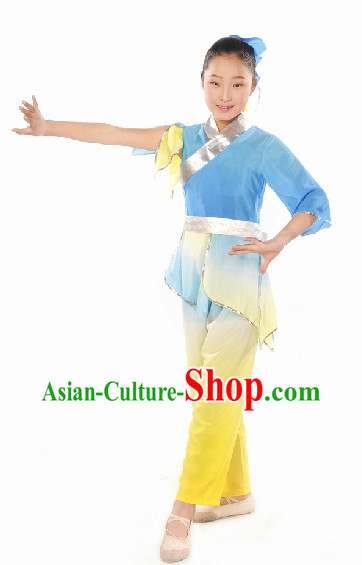 Professional Dance Troupe Student Classical Dancing Costume