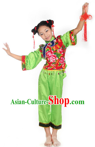 Professional Stage Performance Lunar New Year Dancing Outfit for Children