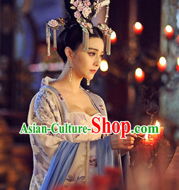 Tang Dynasty Wu Ze Tian Empress Costumes Complete Set