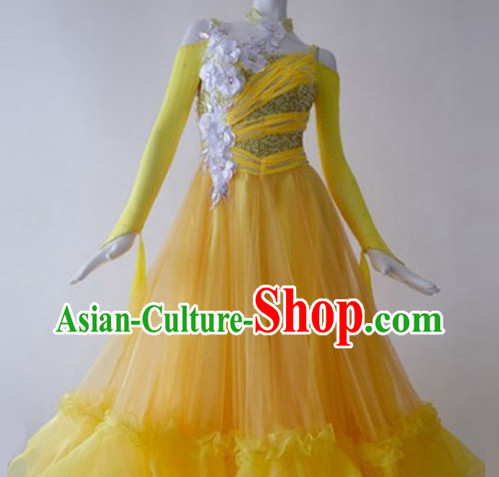 Top Competition Ballroom Social Dancing Costumes