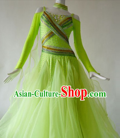 Competition Quality Ballroom Dancing Suit for Women