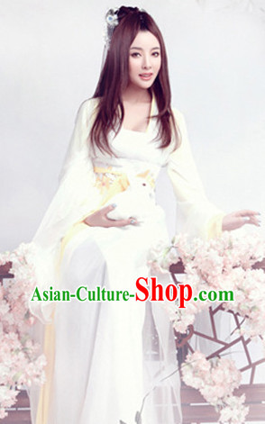Pure White Classical Dancing Costumes