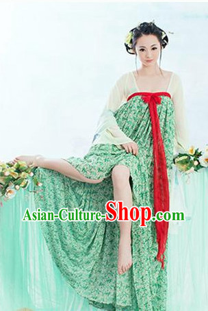 Ancient Chinese Tang Dynasty Classical Dancing Costumes