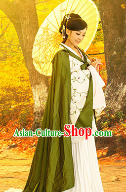 Ancient Chinese Cloud Song Guzhuang Mantle for Women