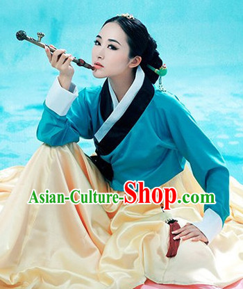 Ancient Chinese Korean Ethnic Minority Outfit for Women