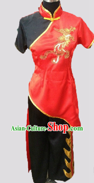 Professional Custom Make Stage Performance Dragon Boat Uniforms
