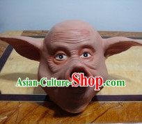 Stage Performance Pig Head Mask