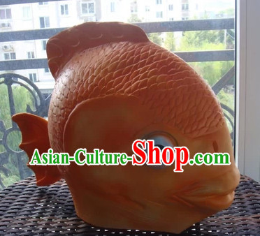 Stage Performance Carp Fish Head Mask