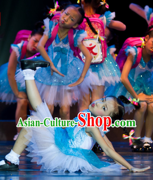 Kindergarten Students Group Dance Costumes