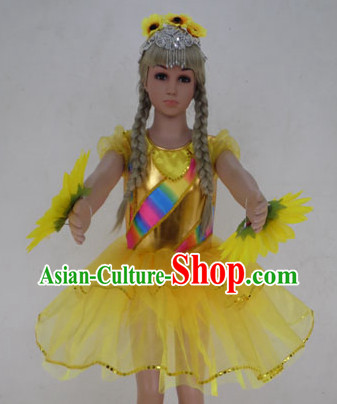 Nursery School Sunflower Group Dance Costumes