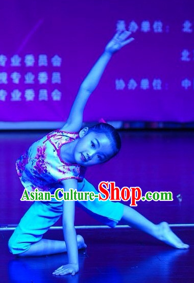 Chinese Folk Town Girl Dancing Costume