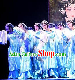 Peking Opera Hua Dan Stage Performance Dance Costumes