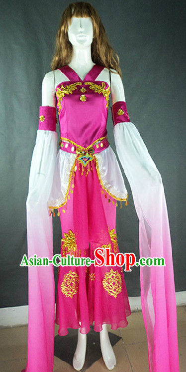 Chang Er Flies to the Moon Long Sleeves Classical Dancing Costumes