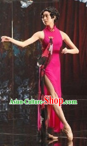 Traditional Cheongsam Dance Costumes