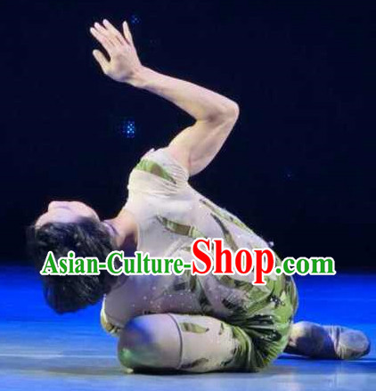 Professional Stage Performance Little Grass Dance Costume for Men or Women