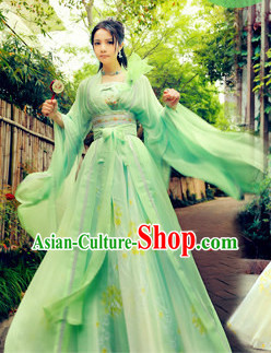 Ancient Chinese Fairy Clothing Complete Set