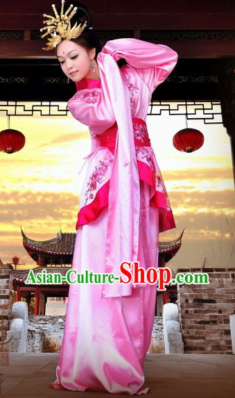 Han Dynasty Palace Dancing Long Sleeves Costumes