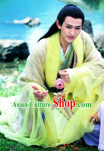 China Film Prince Yellow Clothes Complete Set