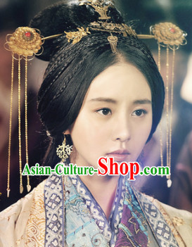 Traditional Royal Chinese Queen Hair Accessories