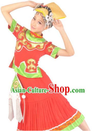 Chinese Yi Nationality Dress for Women