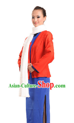 Jiang Jie Opera Costume and Scarf