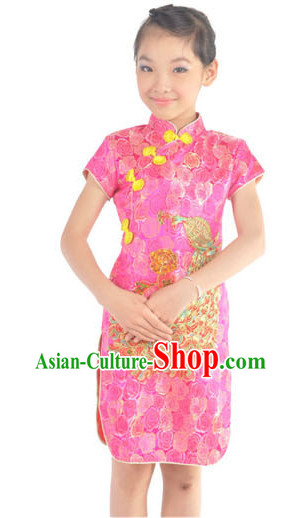 Chinese Christmans and New Year Dance Team Costumes for Kids