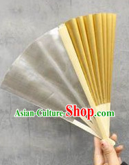 Double-sided Gold Silver Dancing Fan for Kids and Adults