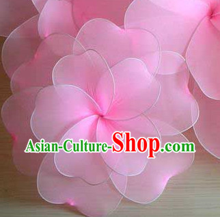 Handmade Big Oriental Cherry Blossom Dance Prop Mall Display Decoration
