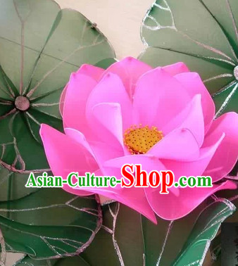 Handmade Lotus Dance Props Market Decorations