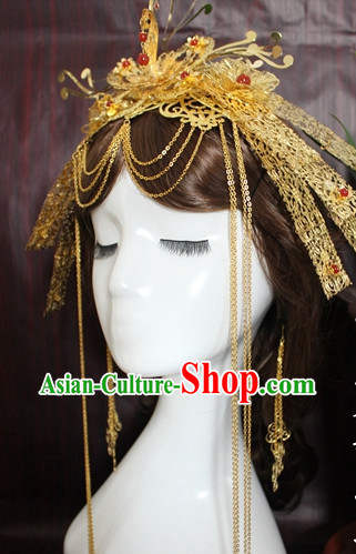 Ancient Chinese Empress Hair Ornaments Phoenix Coronet