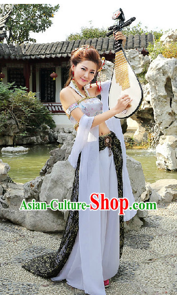 Chinese Traditional Lute Clothing