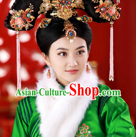 Ancient Chinese Princess Hair Clips Set