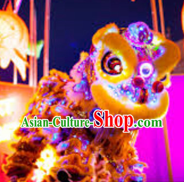 Top LED Lights Lion Dance Equipment Complete Set