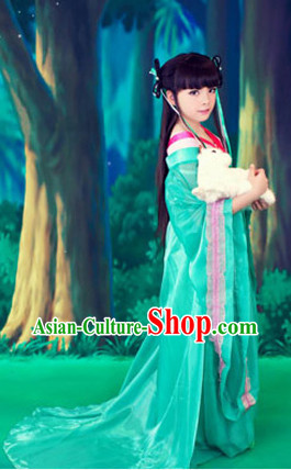 Ancient Chinese Fairy Costume for Kids
