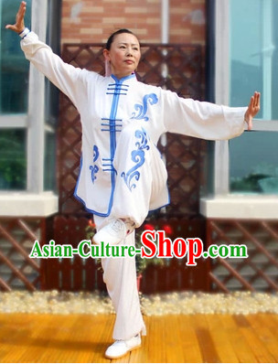 Professional Kung Fu Tai Chi Silk Uniform