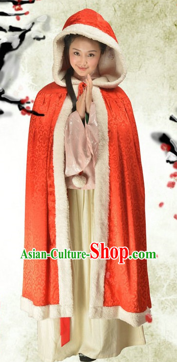 Huafu Hanzhuang Traditional Cape for Women