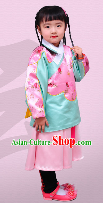 Chinese Traditional Outfit for Kids