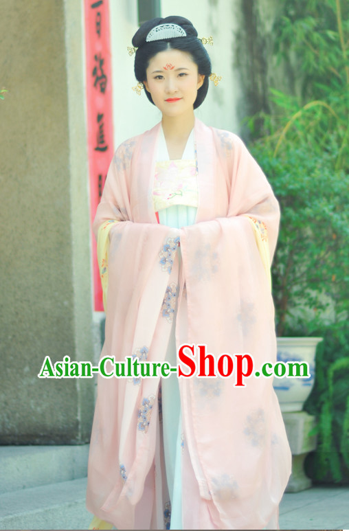 Tang Dynasty Daxiushan Clothes for Women