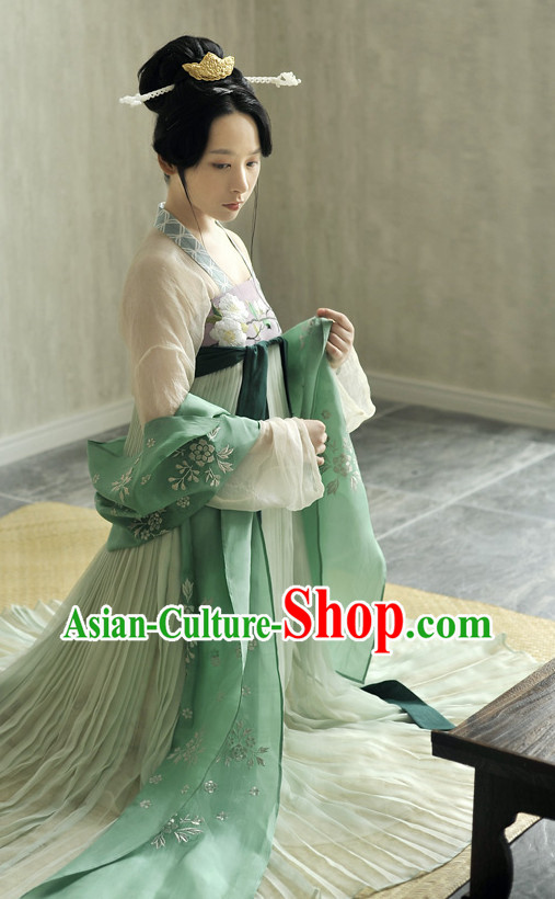 Chinese Traditional Hanfu Skirt for Girls