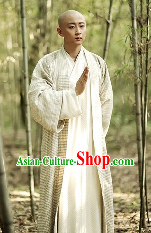 Chinese Tang Dynasty Monk Clothes Uniforms